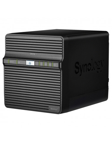 Synology DS418J Serveur NAS (Sans disque)