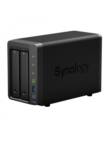 Synology DS718+ NAS Server WD RED 8TB