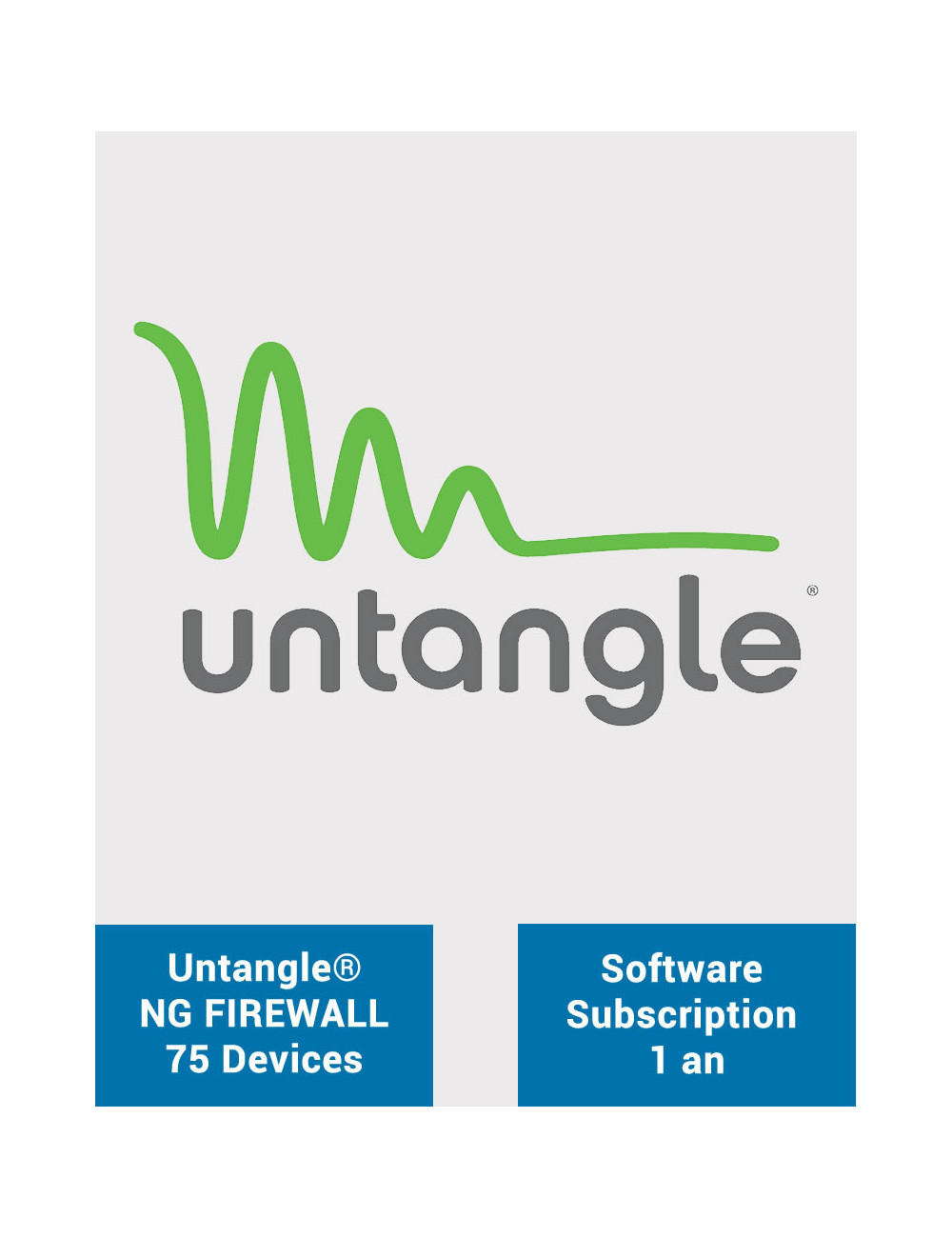 Untangle NG Firewall Complet - Licence 75 postes - 1 an