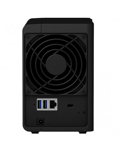 Synology DS218 NAS Server IRONWOLF 8TB