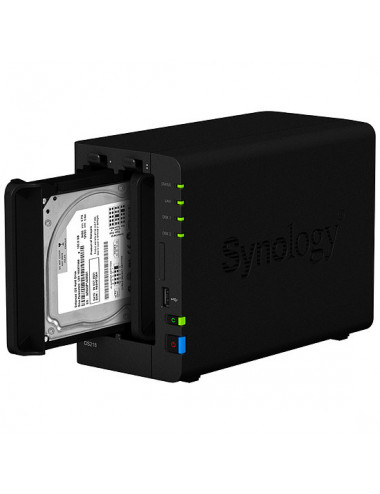 Synology DS218 NAS Server IRONWOLF 12TB