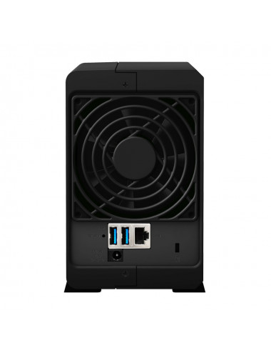 Synology DS218PLAY NAS Server WD BLUE 2TB
