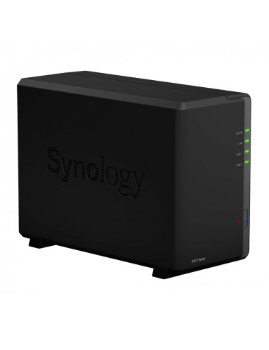 Synology DS218PLAY NAS Server WD BLUE 12TB