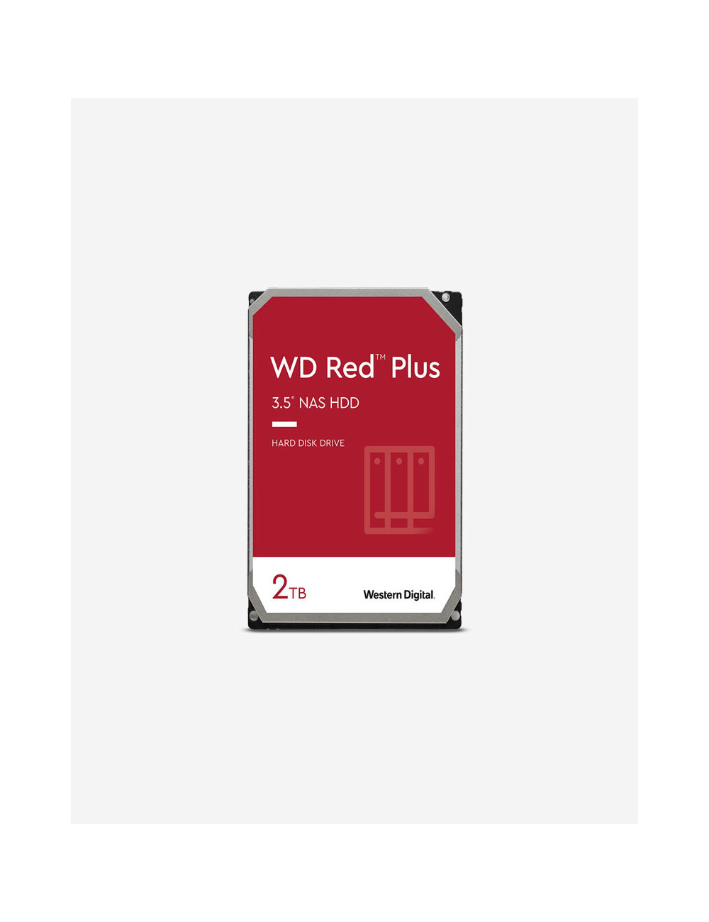 WD RED PLUS 2TB SATA drive for NAS