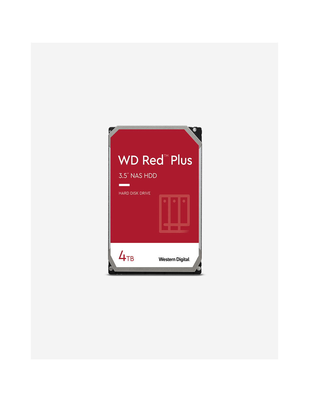 WD RED PLUS 4TB SATA drive for NAS