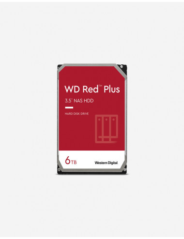 WD RED PLUS 6TB SATA drive for NAS