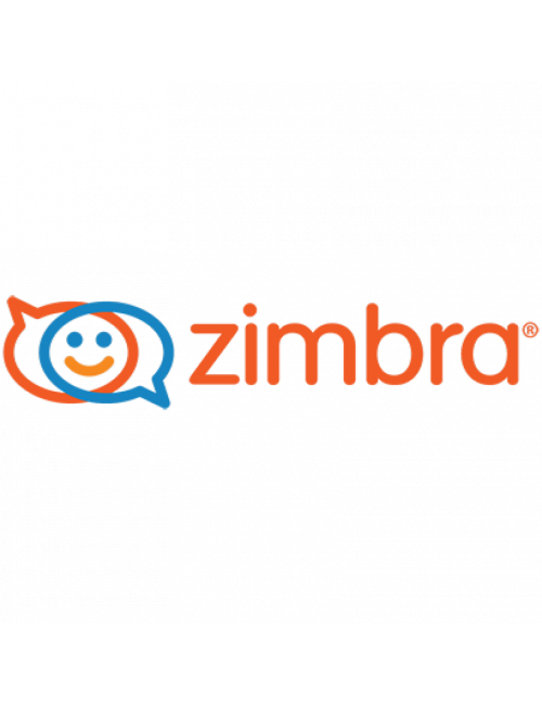 Pack 5 Standard ZIMBRA mailboxes + 1 .COM domain - 1 year