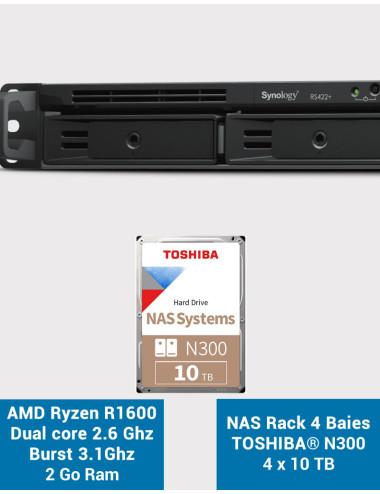 Synology DS1019 + NAS Server - SATA 6Gb / s - 10 TB