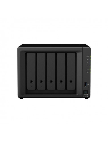 Synology DS1019+ NAS Server - SATA 6Gb / s - 5 TB IRONWOLF