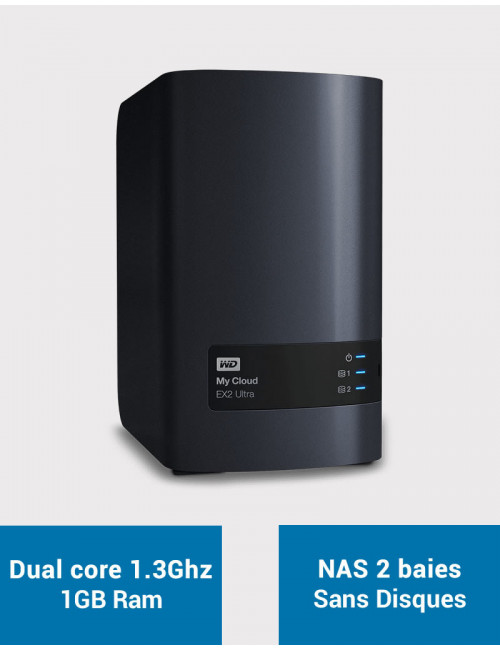 Western Digital EX2 NAS Server (Diskless)