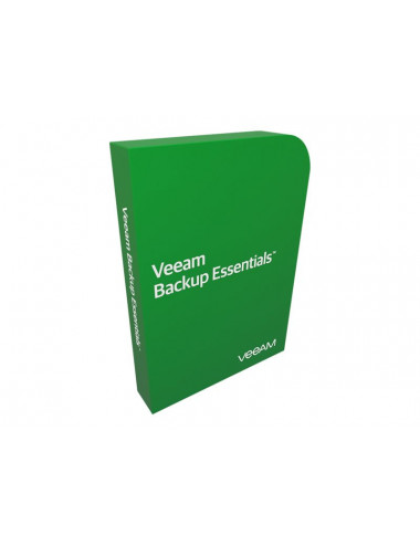Veeam Backup Essentials Standard - Pack 2 Proc - Basic Support 1 an