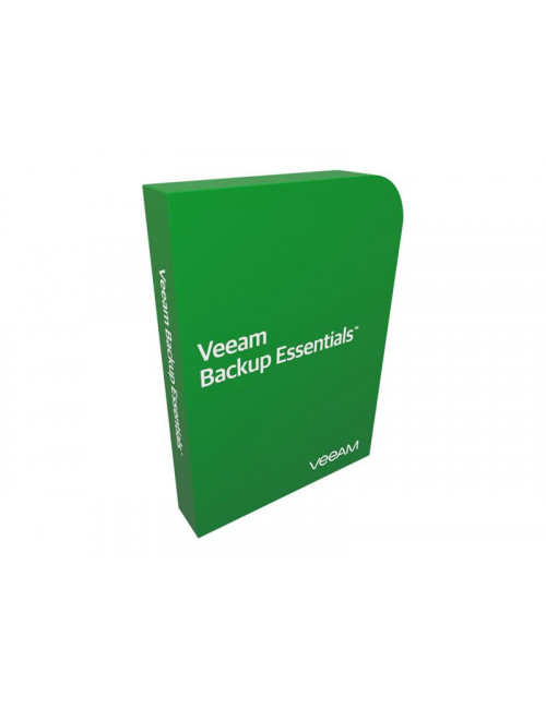 Veeam Backup Essentials Standard - Pack 2 Proc - Production Support 1 an