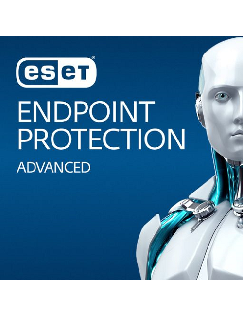 ESET Endpoint Protection Advanced (1-10 postes) -  Licence 5 postes - 1 an