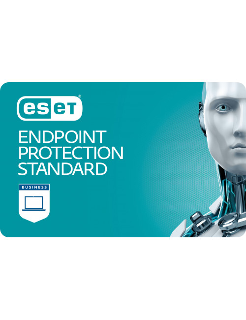 ESET Endpoint Protection Standard (1-10 devices) - License 5 devices - 1 year