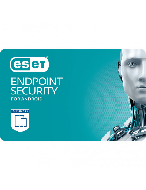 ESET Endpoint Security pour Android (1-10 Mobiles) - License 1 mobile - 1 year
