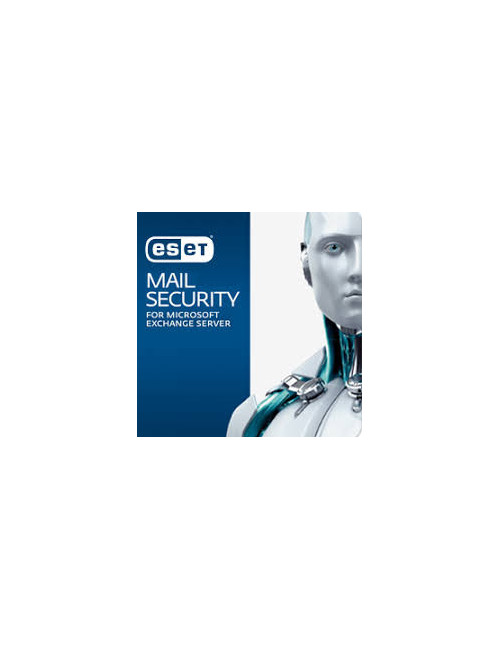 ESET Mail Security Exchange (11-25 Mailbox) - Licence 1 Mailbox - 1 an