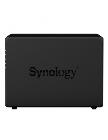 Synology DS418 NAS Server - side view