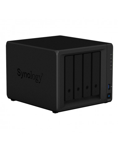 Synology DS418 NAS Server - 3/4 front view