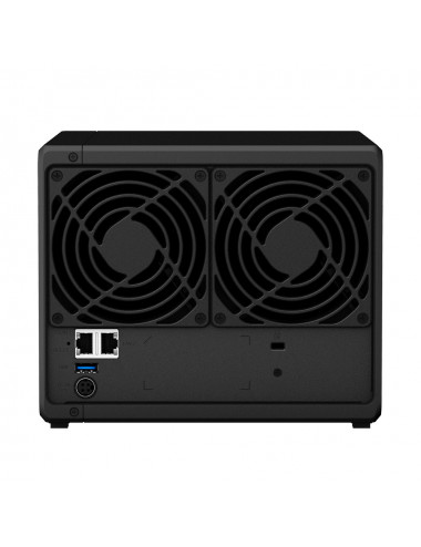 Synology DS418 NAS Server - rear view