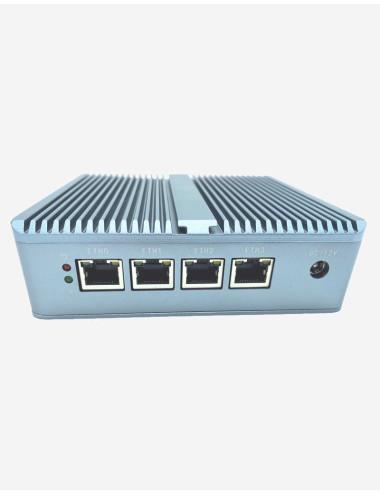 Synology DS418 Serveur NAS vue de coté