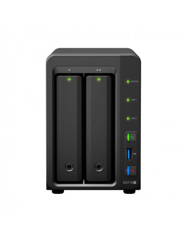 Synology DS718+ Serveur NAS WD BLUE 2 To