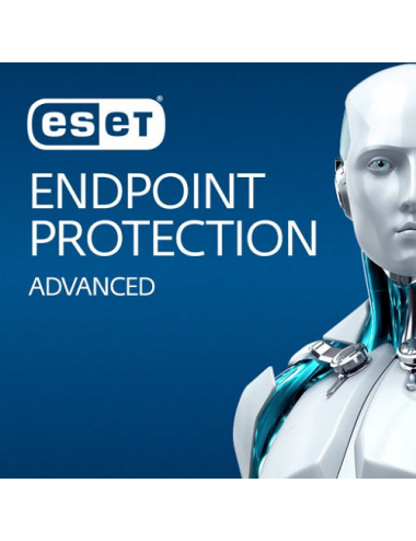ESET Endpoint Protection Advanced (1-10 postes) -  Licence 1 poste - 1 an
