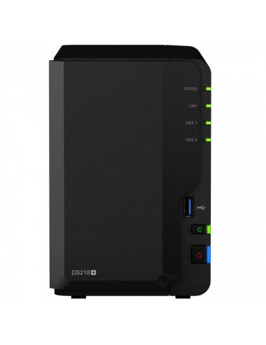 Synology DS218+ Server NAS - SATA 6Gb/s - 12 TB