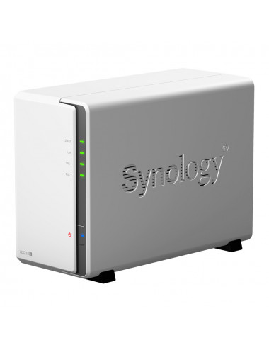 Synology DiskStation DS218J 3/4 View