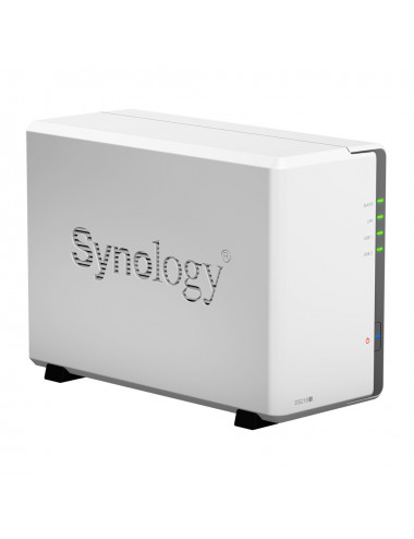 Synology DiskStation DS218J NU Vue 3/4