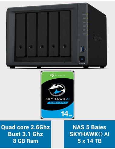 Synology DiskStation DS218J NU Vue 3/4