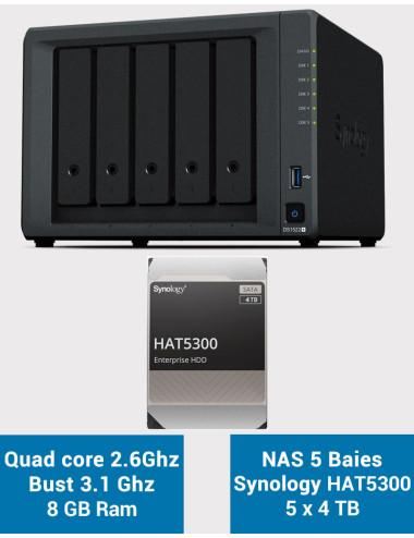QNAP TS-231P NAS Server WD RED 2TB