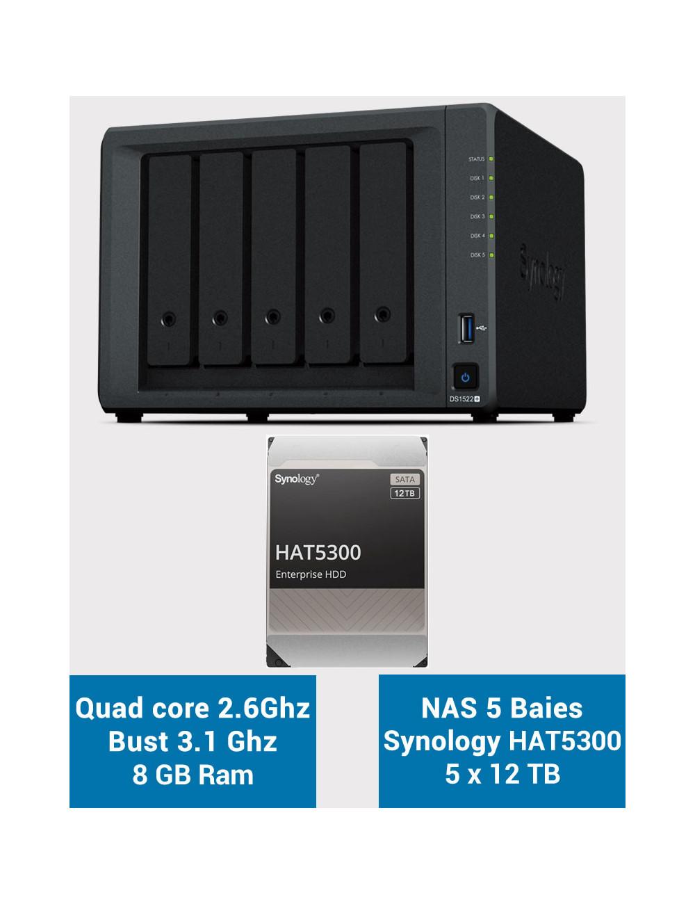 QNAP TS-231P NAS Server WD RED 4TB