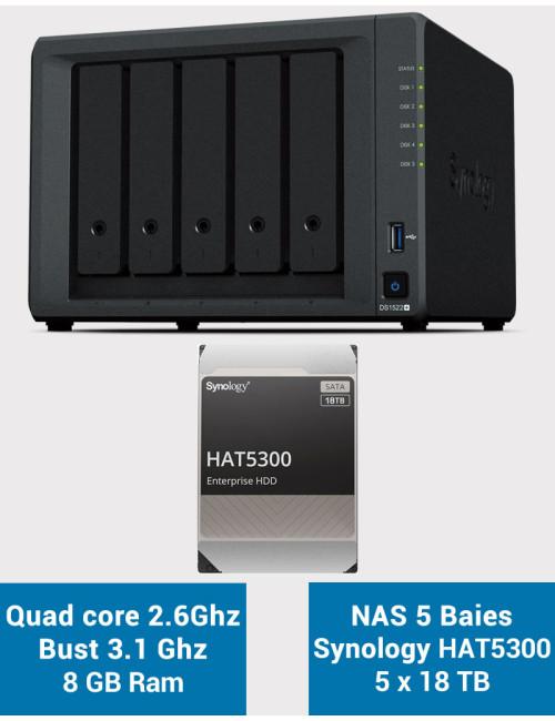 QNAP TS-231P NAS Server WD RED 8TB