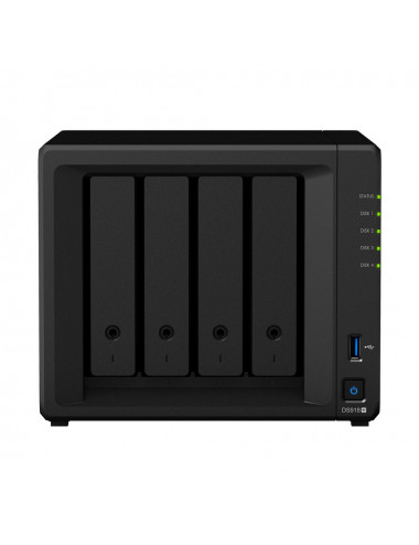 Synology DiskStation DS918+ NU Vue face avant