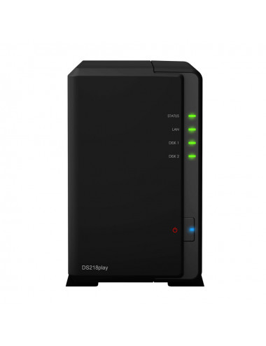 Synology DS218PLAY Serveur NAS WD RED 6To
