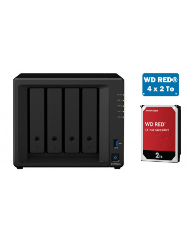 Synology DS418play Serveur NAS - SATA 6Gb/s - 8 To