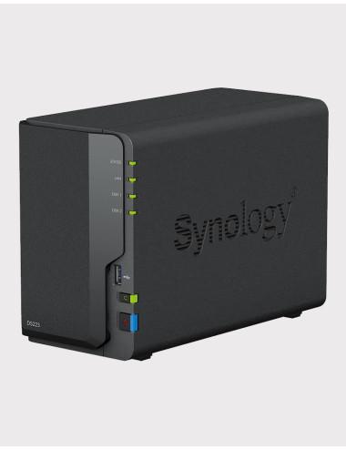 Synology DS218j Serveur NAS (Sans disque)