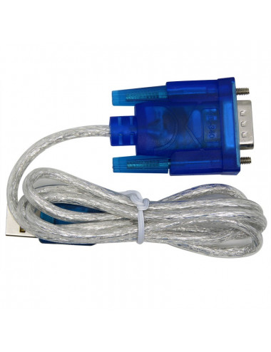 Cable USB - Serie DB9 hembra - Windows / MAC / Linux