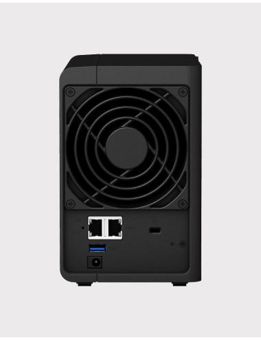 Synology DS218J NAS Server WD BLUE 2TB (2x1TB)
