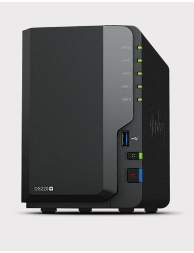Synology DS218J NAS Server WD BLUE 8TB (2x4TB)
