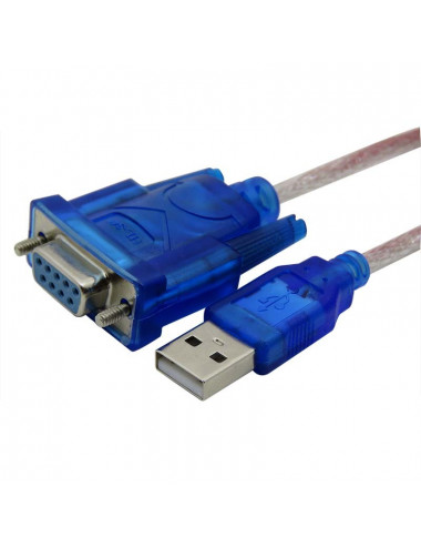 USB Cable - DB9 Female Series - Windows / MAC / Linux