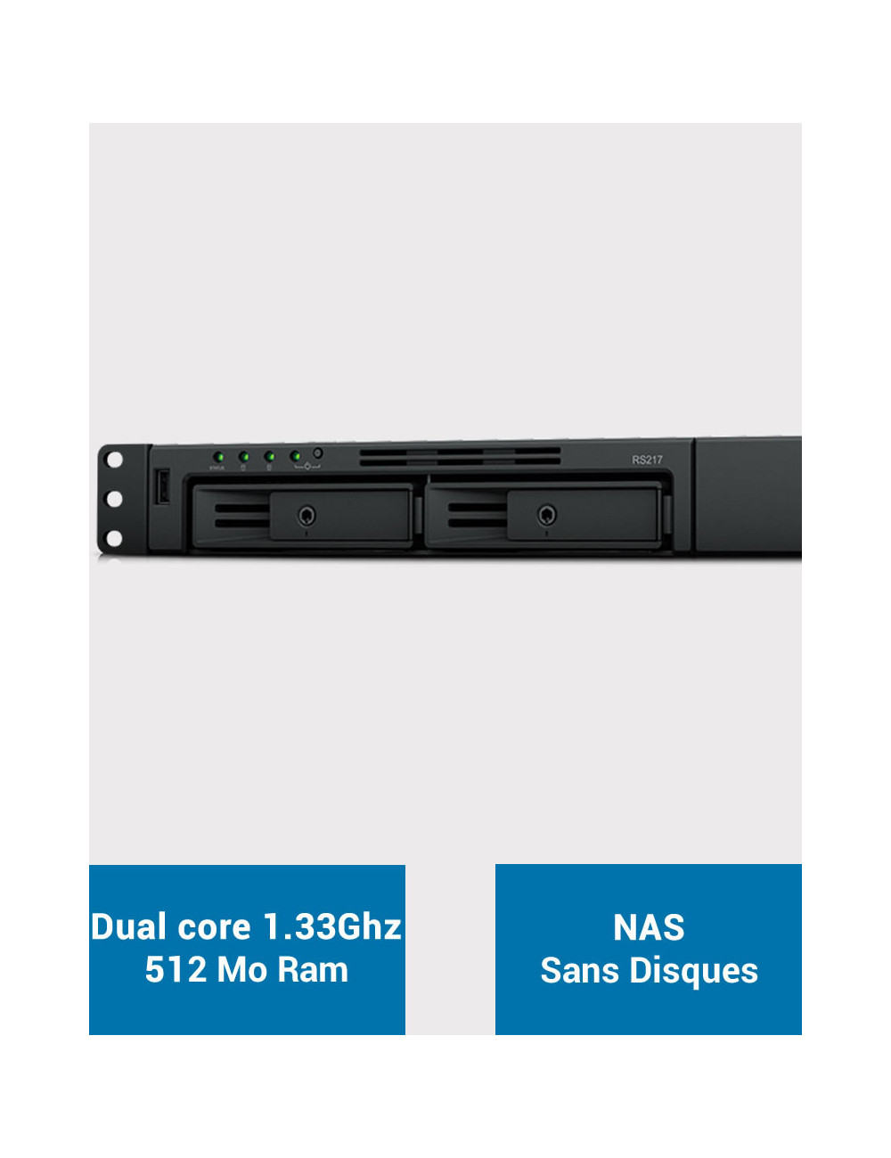 Synology RS217 NAS Server (Diskless)