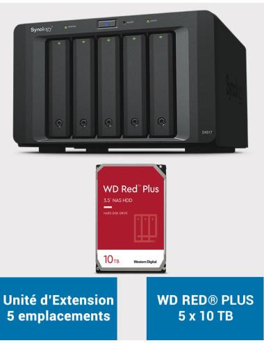 Synology DS1019+ NAS Server IRONWOLF 20TB (5x4TB)