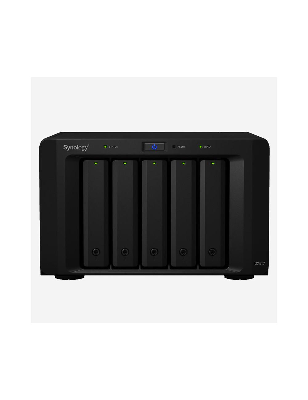 Synology DS1019+ NAS Server IRONWOLF 30TB (5x6TB)