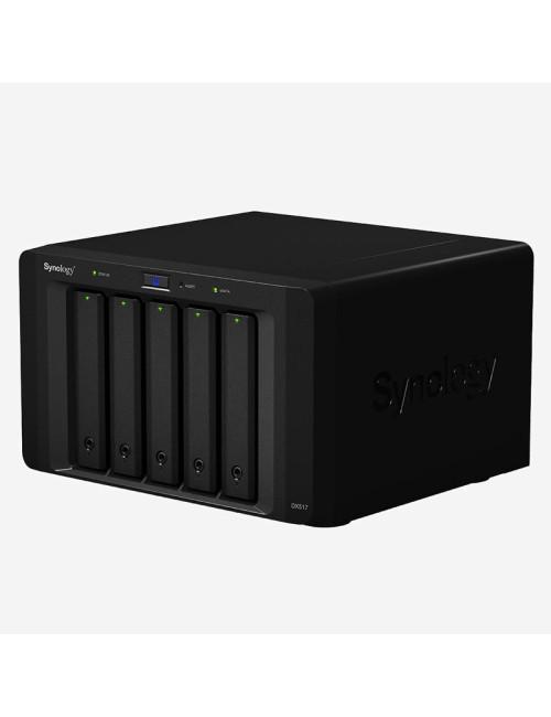 Synology DS1019+ NAS Server IRONWOLF 60TB (5x12TB)