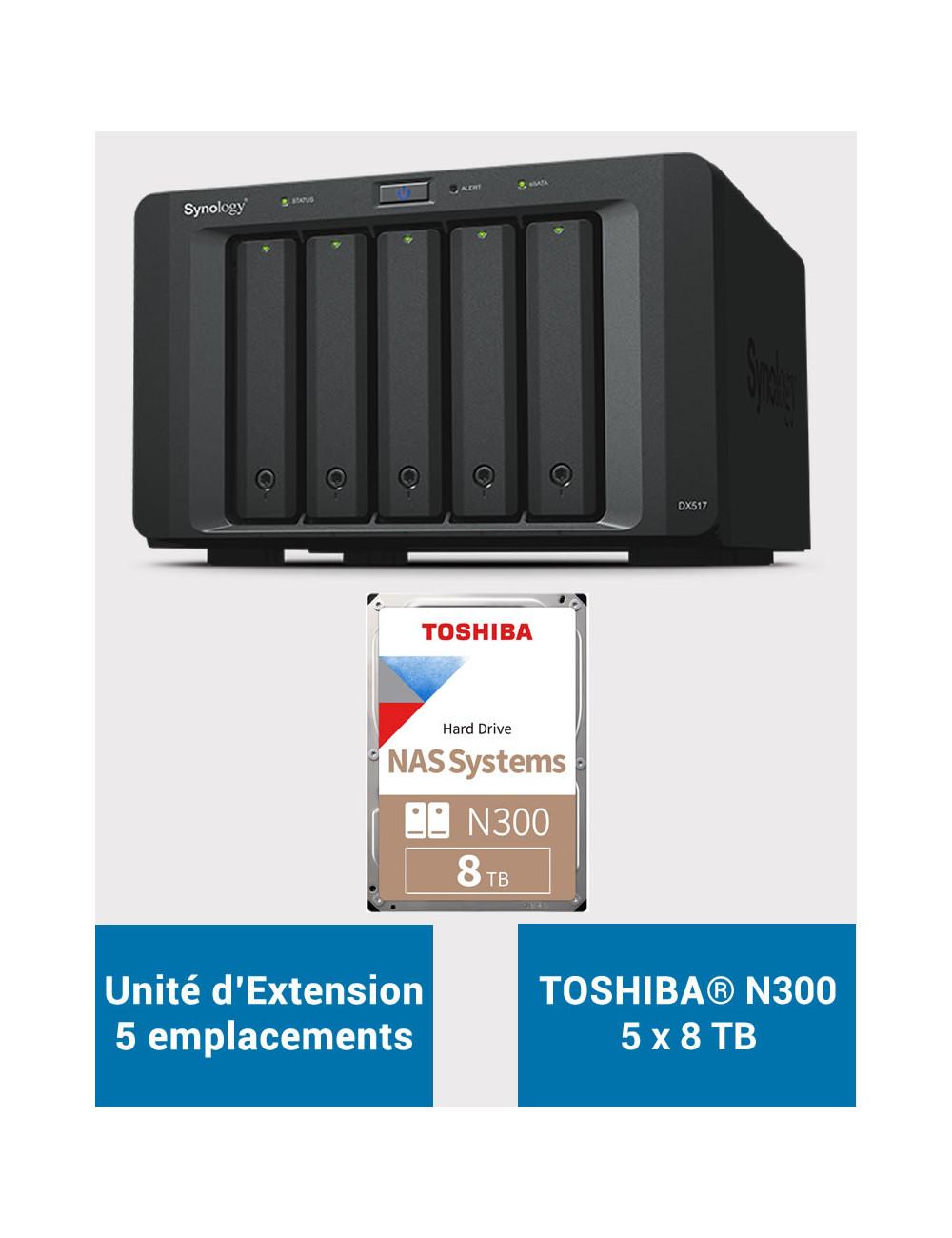Synology DS718+ Serveur NAS (Sans Disques)