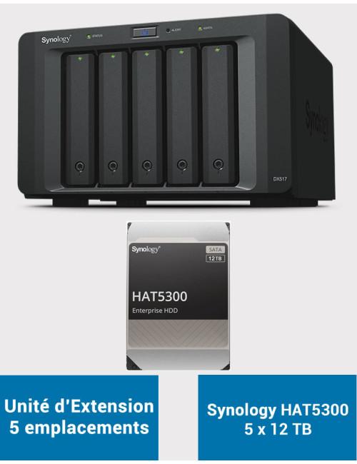 Synology DS718+ NAS Server WD BLUE 4TB (2x2TB)