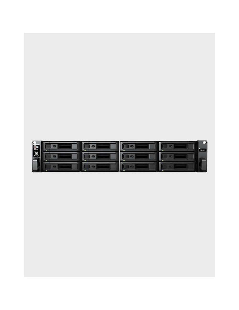 Synology DS218+ NAS Server IRONWOLF 12TB (2x6TB)