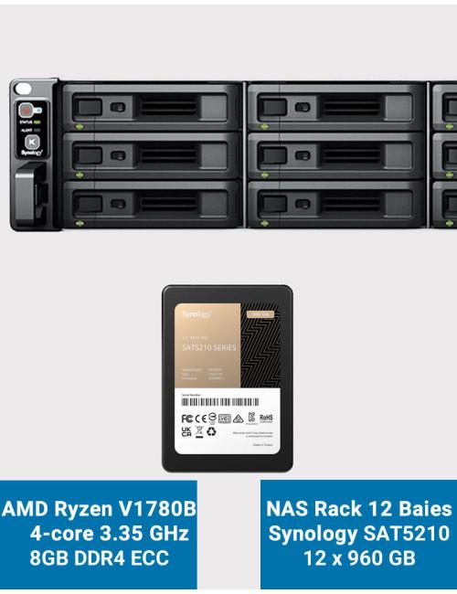 Synology DS218+ NAS Server IRONWOLF 20TB (2x10TB)