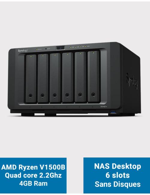 Synology DS218 NAS Server WD BLUE 12TB (2x6TB)